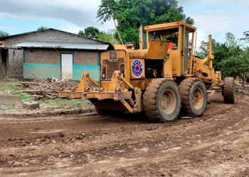 El Gobierno desarrolla 15 proyectos de construcción, reconstrucción, dragado de ríos y mitigación en Chamelecón.