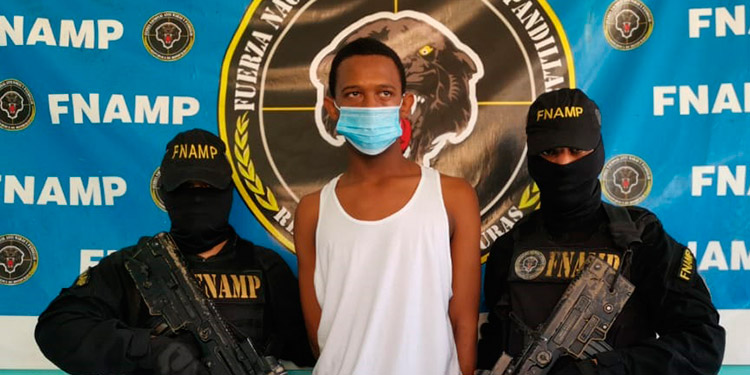 Eyner Josué Álvarez García también es investigado por últimos hechos delictivos ocurridos en La Ceiba y El Porvenir, Atlántida.