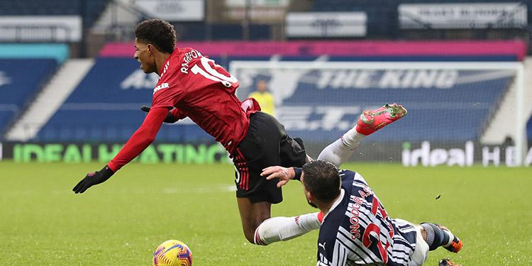 Manchester United dejó escapar una gran oportunidad ante el West Bromwich.