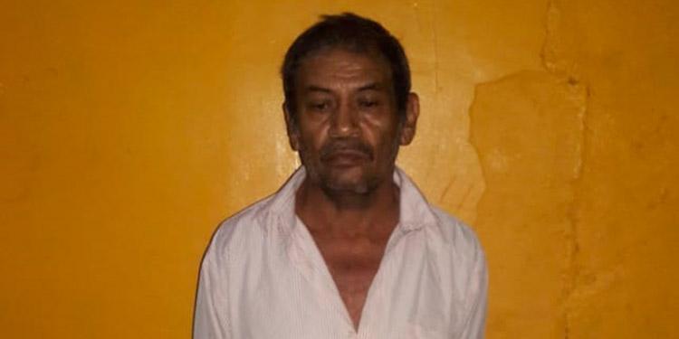 Santos Eusebio Torres Baquedano fue detenido por supuesto delito de violación.