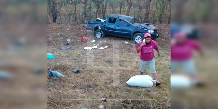 Un muerto y varios heridos deja accidente de transito en Danlí, El Paraíso