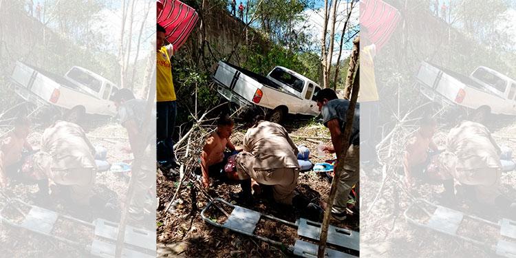 Dos personas heridas deja accidente de tránsito en Yoro