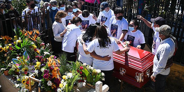 Familiares de Keyla Martínez temen por sus vidas