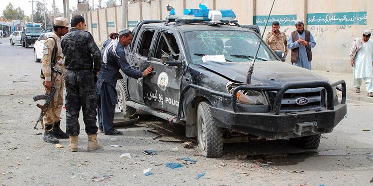 Tres muertos, 30 heridos por ola de atentados en Afganistán