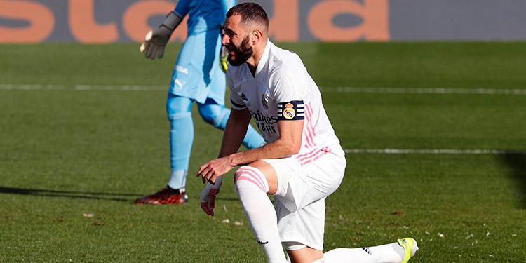 2-0. Benzema instala la calma en el Real Madrid