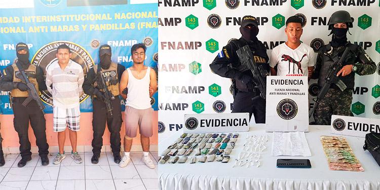 Caen tres pandilleros de diferentes organizaciones en la capital