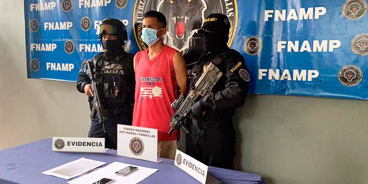 Capturan a un extorsionador en San Pedro Sula