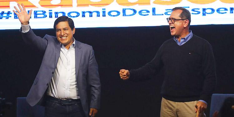 Termina escrutinio en Ecuador: Arauz y Lasso a la cabeza
