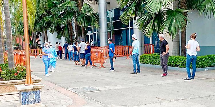 Cierran triaje de Expocentro en San Pedro Sula