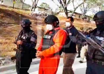 Así partió de Honduras en un avión de la DEA, José García Teruel