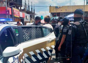 Hondureños son capturados fumando marihuana en pleno centro de ciudad mexicana