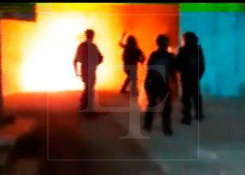 Caso Keyla Martínez: prenden fuego a posta de La Esperanza
