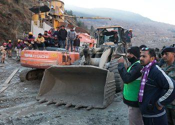 La India apura las tareas de rescate tras una avalancha con 170 desaparecidos
