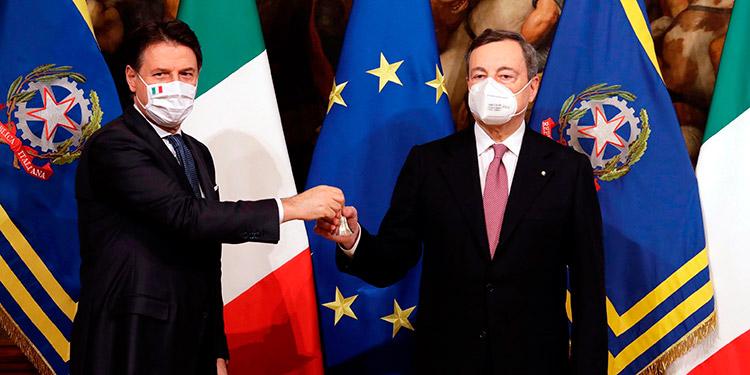 Draghi toma las riendas de Italia para sanar la crisis de la pandemia