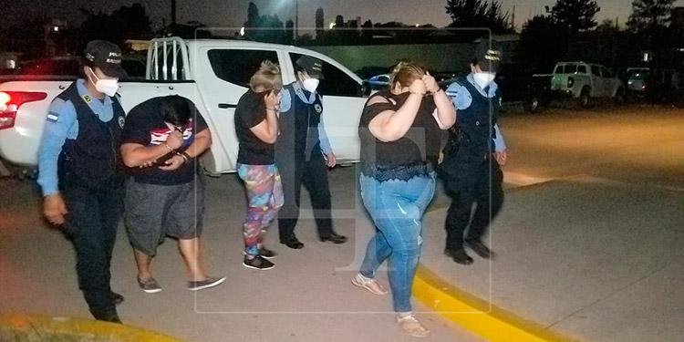 Caen tres integrantes de la banda criminal 'Las Rubias' en Tegucigalpa