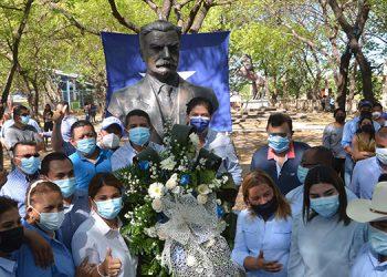 Los nacionalistas celebraron a lo grande el 119 aniversario de fundación del PNH.