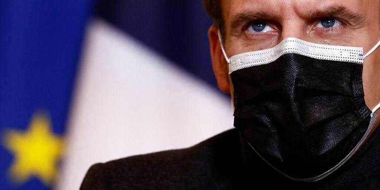 Macron anuncia suspensión de vacuna AstraZeneca en Francia