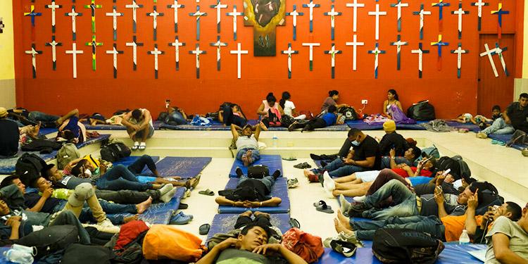 Los migrantes en América vuelven al camino pese a pandemia