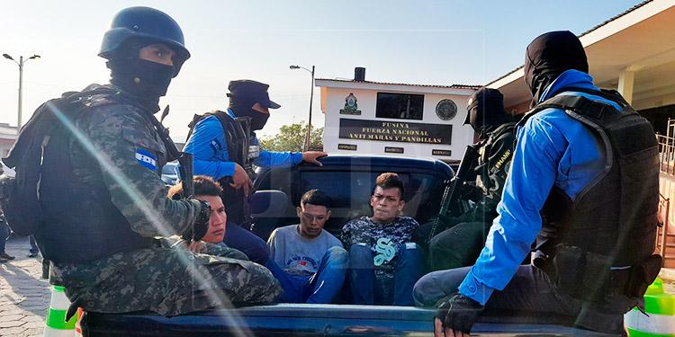 Caen tres presuntos responsables del crimen de dos hermanas en Comayagüela