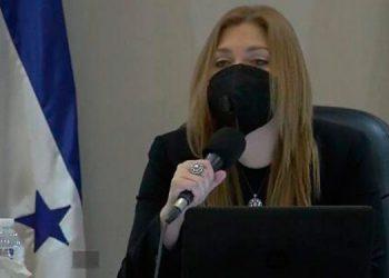 La miembro del Consejo Nacional Electoral, Ana Paola Hall, se incorporó al pleno este domingo.