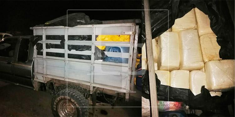 Caen tres hombres por el contrabando de 2,500 libras de queso