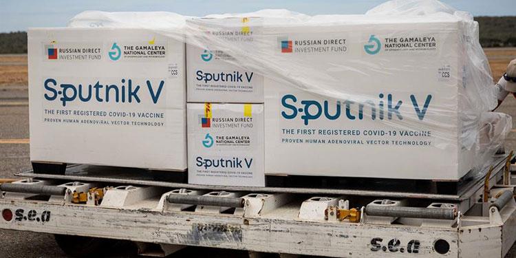 México recibe primer envío de vacuna Sputnik V para COVID-19
