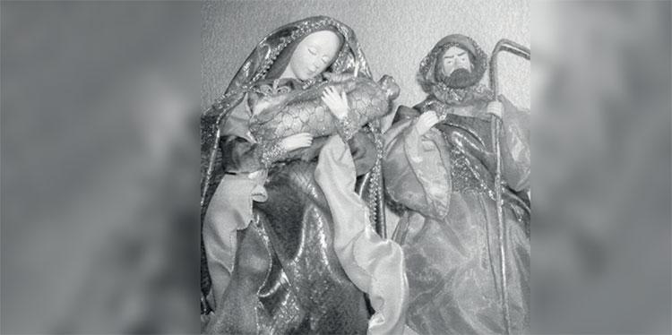 1 José, María y el Niño Jesús en brazos, como Peregrinos hacia Egipto. Tradición religiosa casi perdida en Tegucigalpa