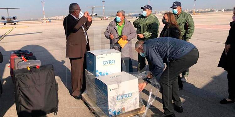 Avión con vacunas donadas por Israel en camino de regreso a Honduras