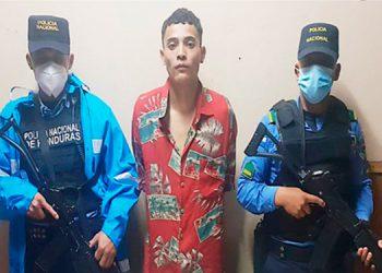 """A Ariel Antonio Fúnez Meza, alias """"Cara Loco"""", se le acusa del delito de asesinato."""