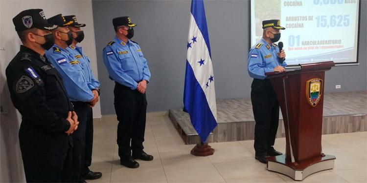 La Policía Nacional logró incautaciones de drogas valoradas en alrededor de 50 millones de dólares.