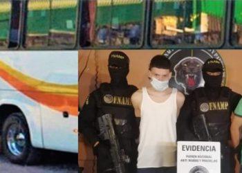 Los dos jóvenes fueron acusados por la Policía de atacar el autobús donde resultó herido un ayudante de la unidad.