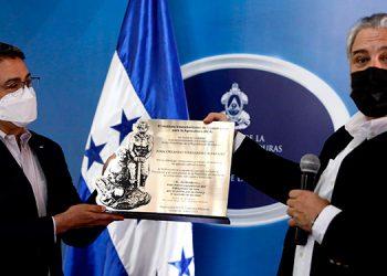 El IICA reconoció en esta semana el apoyo y el liderazgo del Presidente Juan Orlando Hernández al sector agrícola.