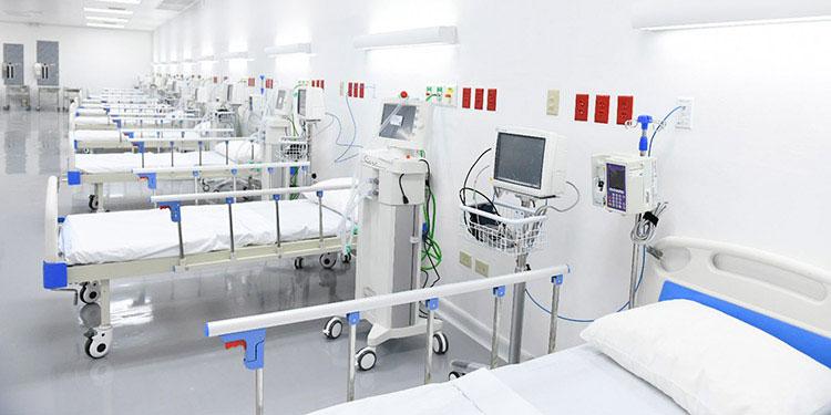 Ante los contagios de COVID-19, las autoridades sanitarias buscan ampliar la capacidad de hospitales capitalinos.