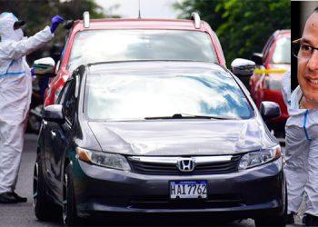 El abogado Melvin Edgardo Bonilla Mejía (foto inserta) fue atacado a tiros cuando transitaba en su automóvil por la bajada de la calle de la colonia Alameda hacia el barrio La Guadalupe, en Tegucigalpa.