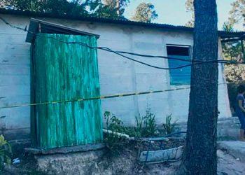 En el interior de esta casa fue ultimado Jorge Adonay Sauceda Ramos.