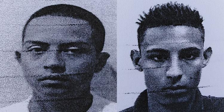 Dixi Adán Contreras Oviedo y Edy Santiago García Iglesias.
