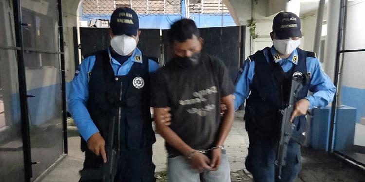 Franklin Javier Lara Hernández (29), alias El Diablo, será puesto a disposición de las autoridades competentes de Cortés.