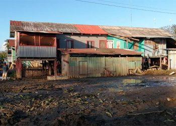 Los pobladores de las comunidades de Samar, La Montañita y Los Catrachos dijeron sentirse muy contentos con la limpieza realizada por la Operación No Están Solos, del gobierno.