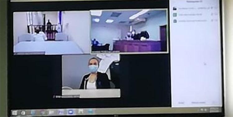El juicio se celebra de manera virtual, los encausados se encuentran conectados desde los recintos carcelarios.