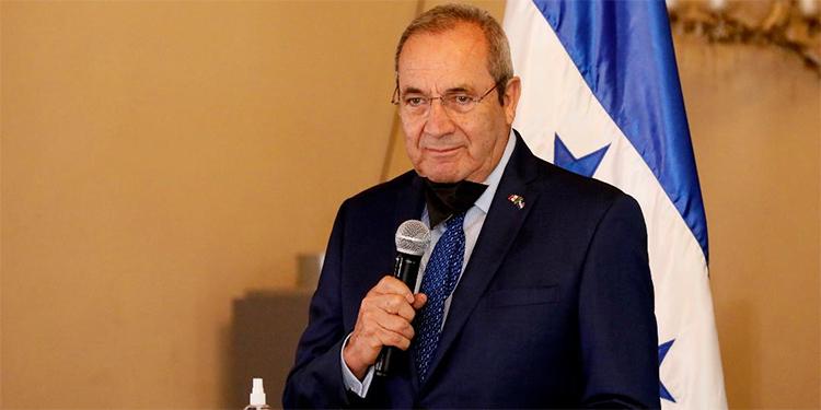 David Jiménez, embajador de México en Honduras