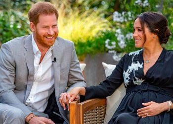 Príncipe Harry y Meghan Markle.