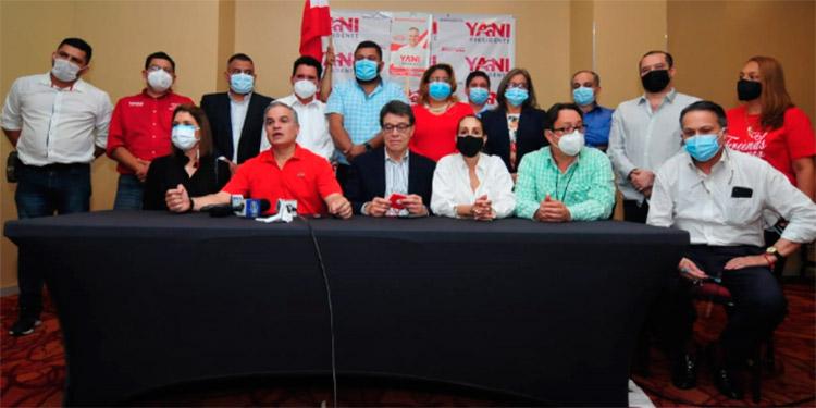 El precandidato presidencial del movimiento Liberal Yanista, Yani Rosenthal Hidalgo, llamó a la unidad del liberalismo.