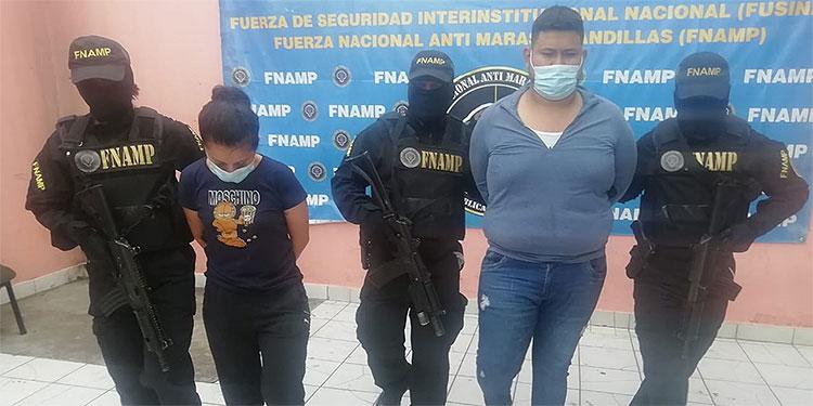 """""""El Gordo"""" y """"La Flaca"""" de una agrupación criminal fueron capturados por dedicarse a la extorsión."""