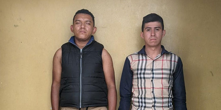 Jonathan Misael Colindres Nieto y Brayan Teodoro Romero Nieto.