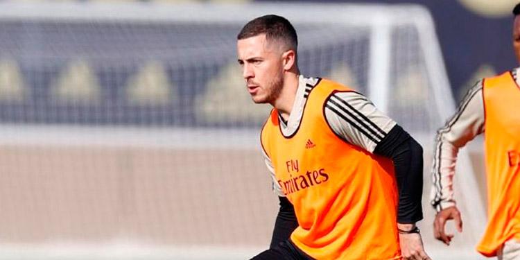 Roberto Martínez explicó que el delantero madridista Eden Hazard tiene muchas ganas de volver.