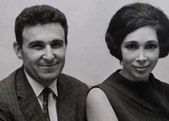 Jacobo y Frances Goldstein. Foto tomada en 1967.