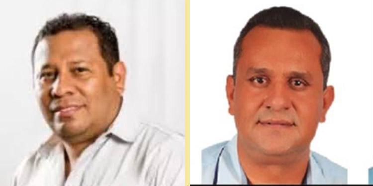 Luis Espinal (Alauca) y Juan Carlos Videa (Oropolí).