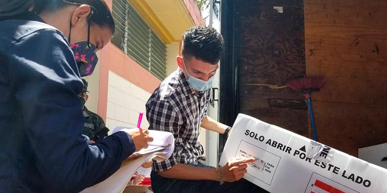 Hay 1,188 malestas electorales para los 14 municipios de El Paraíso.