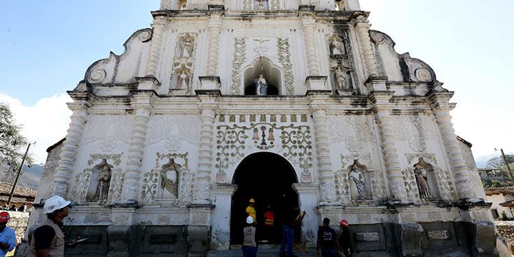 La iglesia de San Manuel de Colohete es considerada una de las maravillas de Honduras.