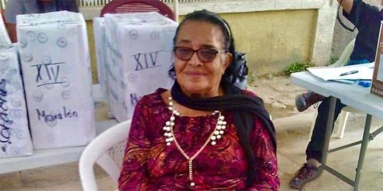 Adilia Apolonia Martínez Guzmán fue alcaldesa de Marcala del año 1990 a 1994.